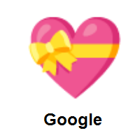 Heart with Ribbon on Google Android