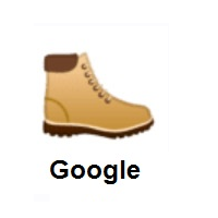 Hiking Boot on Google Android
