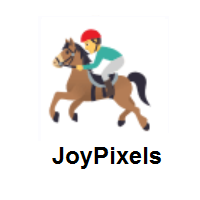 Horse Racing on JoyPixels