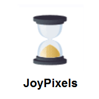 Hourglass Done on JoyPixels