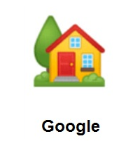 House With Garden on Google Android