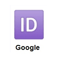 ID Button on Google Android