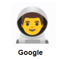 Man Astronaut on Google Android