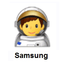 Man Astronaut on Samsung