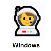 Man Astronaut on Microsoft Windows