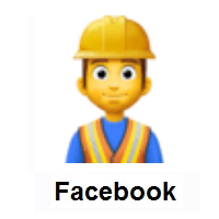 Man Construction Worker on Facebook
