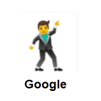 Man Dancing on Google Android