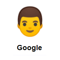 Man on Google Android