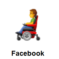 Man In Motorized Wheelchair on Facebook
