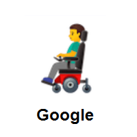 Man In Motorized Wheelchair on Google Android