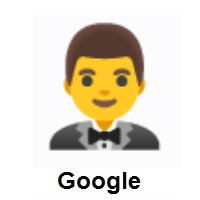Man in Tuxedo on Google Android