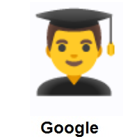 Man Student on Google Android