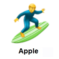 Man Surfing on Apple iOS
