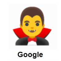 Man Vampire on Google Android