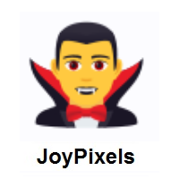 Man Vampire on JoyPixels