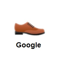 Man's Shoe on Google Android