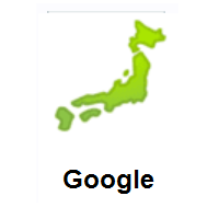 Map Of Japan on Google Android