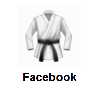 Martial Arts Uniform on Facebook