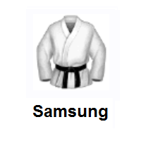 Martial Arts Uniform on Samsung