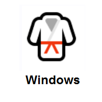 Martial Arts Uniform on Microsoft Windows