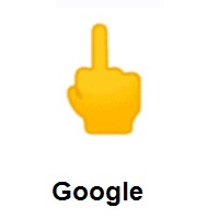 Middle Finger on Google Android