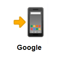 Mobile Phone With Arrow on Google Android
