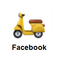 Motor Scooter on Facebook