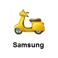 Motor Scooter on Samsung