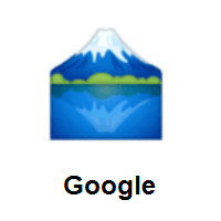 Mount Fuji on Google Android