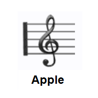 Musical Score on Apple iOS