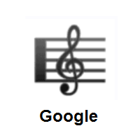 Musical Score on Google Android