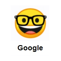 Nerd Face on Google Android