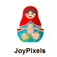 Nesting Dolls on JoyPixels