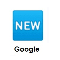 NEW Button on Google Android