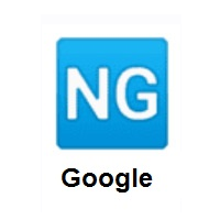 NG Button on Google Android