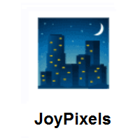 Night With Stars on JoyPixels