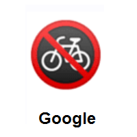 No Bicycles on Google Android