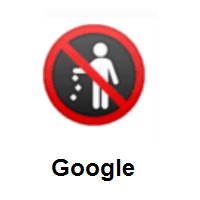 No Littering on Google Android