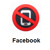 No Mobile Phones on Facebook