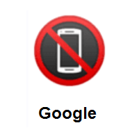 No Mobile Phones on Google Android