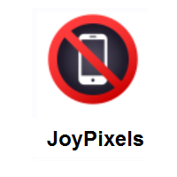 No Mobile Phones on JoyPixels