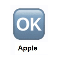 OK Button on Apple iOS