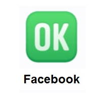 OK Button on Facebook