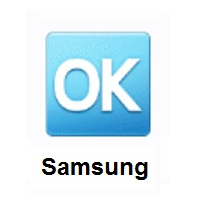 OK Button on Samsung