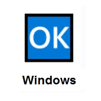 OK Button on Microsoft Windows