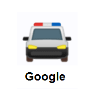 Oncoming Police Car on Google Android