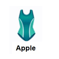 One-Piece Swimsuit on Apple iOS