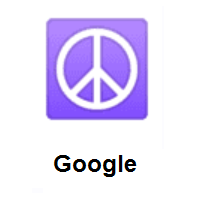 Peace Symbol on Google Android