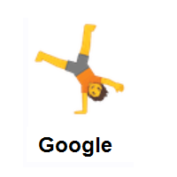 Person Cartwheeling on Google Android