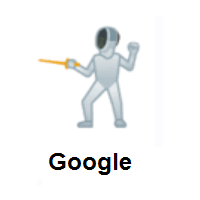 Person Fencing on Google Android
